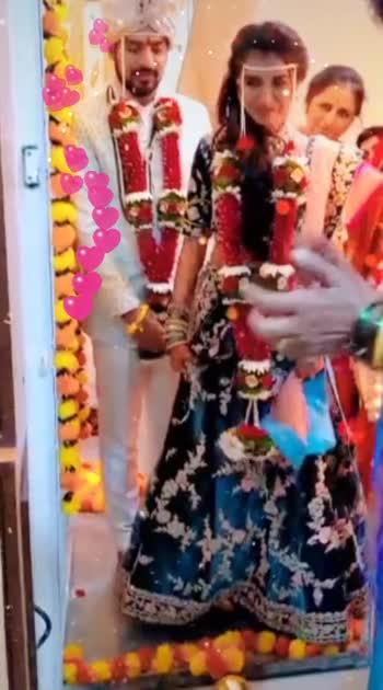 #gruhapravesh #newbride #marathilagna #groom #homecoming #newlyweds #marriage #shadi
