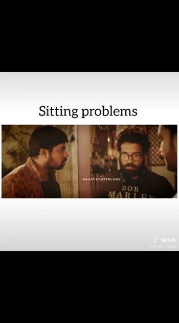 sitting problems