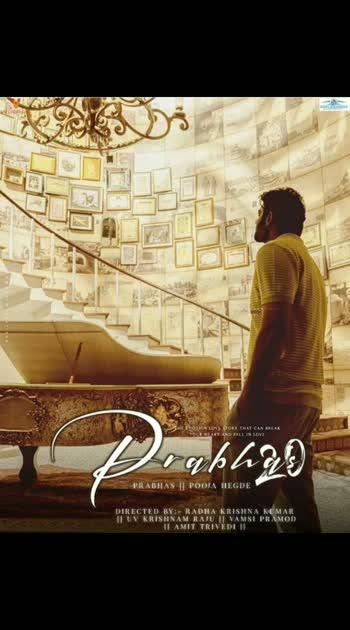 ####prabhas20 movie Frost look ###