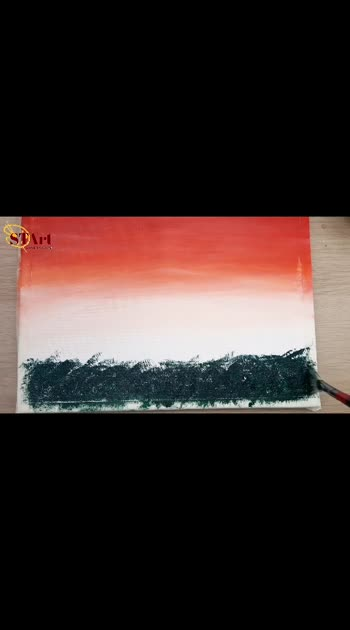 71st Republic Day #art #artist #india #acrylicpainting #trendingvideo #talenthunt #talenthuntroposo #sunsetlovers
