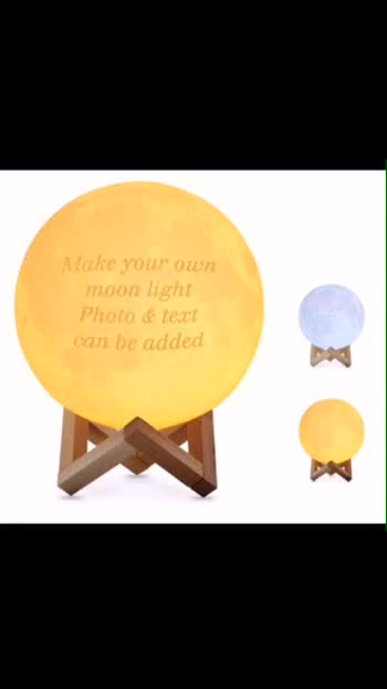 Valentine 's Day SPECIAL OFFER         Customized Moon Lamp Night Light With Your Own Picture and Text, 3D Printed Moon Lantern Personalize it With the Names and Photos or your Own Ideas.                                                           Available at WWW.TRANDLY.COM                                          #onlineshopping #bestoffers #birthdaygifts #valentinesday #bangalorebloggers