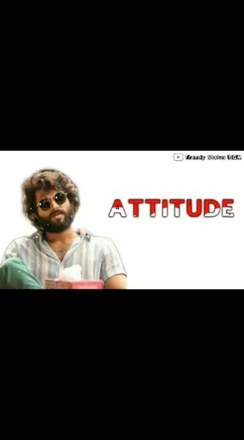 attitude#vijaydevarakondafc #attitude_status