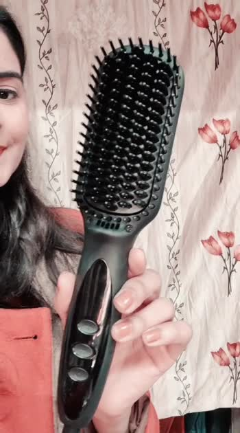 how to use a hot brush #haircare #hairstyle #hairstyleoftheday #roposostar