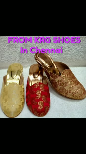 very good quality of Footwear from KRG SHOES In Chennai. cell 6380661733