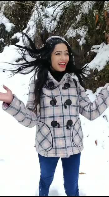 I am on vacation ❤️#vacation #snowfall #risingstaronroposo