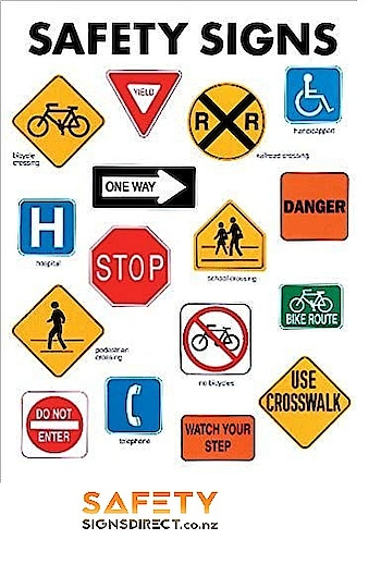 https://www.safetysignsdirect.co.nz/  Many Purposes Of Different Types Of Safety Signs and Symbols  Warn employees of workplace hazards using highway, street, traffic safety signs. Place your order online now at SAFETYSIGNSDIRECT