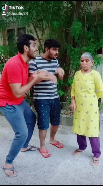 Avana sirikka venamnu sollu da asingama iruku 😂😜 #gethugrandma #thoufiq24 #santhanam #tamil #tamilcomedy #roposotamil #paati #tamily