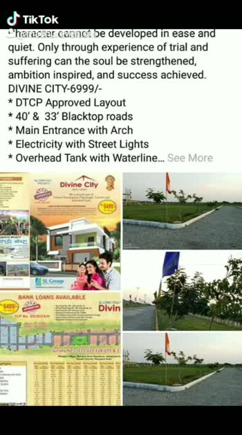 SL GROUP of properties and developers 200 sq yards plots should be sale at just 13,00,000 only we are selling at a low cost for every one 8977774367