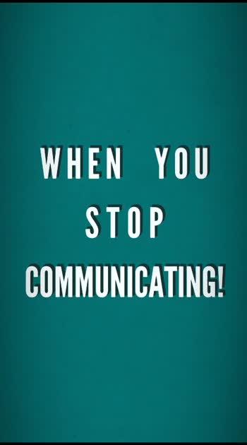 COMMUNICATION!  #ropososoulfulquotes #roposotelugu #roposolove
