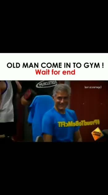 Oldman come gym part2 #gym #old-is-gold #oldman