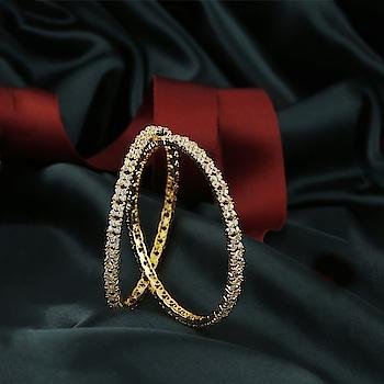 😍Check out this latest collection of American Diamond Bangles at the lowest cost.🤩 Explore more collection on this link: http://bit.ly/31Cruzq OR 📲Whatsapp us on +918888893938 😍 - - - - - - - - - - - - - - - - - #bangles #goldfinishbangles #designerbangles #americandiamondbangles #multicolourbangles #banglesonline #jewellery #artificialjewellery #fancybangels #latestbangles #jawaanijaaneman #chorichamamla #badboysforlife #artificialjewellery #anuradhaartjewellery