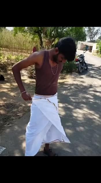 how to wear dhoti