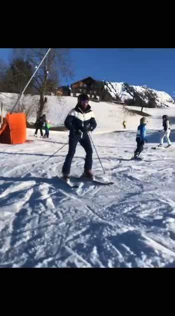 #varundhawan #iceskating