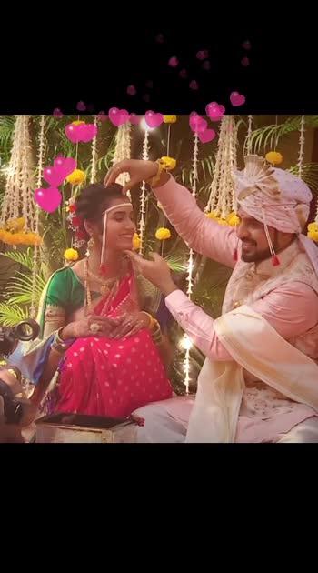 #truelove #marraige #couplegoals #weddingday #indianwedding #marathimulgi #forever #roposostars