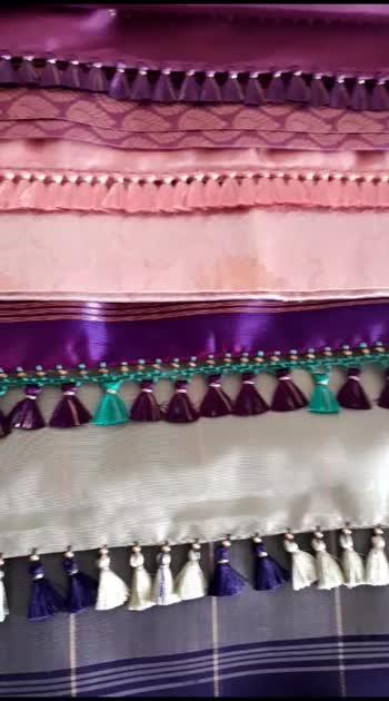 Saree kuchu designs #knottythreadz #saree #sareelove #fashion #youtuber #blogger