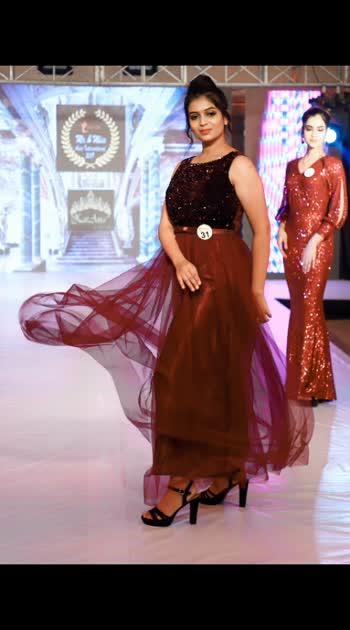 Flaunting my flaws ♥️ #modeling  #rampwalk  #catwalkstyle #model #designerdress #fashion #fashionshow