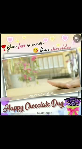 #Repost @_mr.music.world_ @download.ins --- 👉 Chocolate day special #lovestatus💗  #mrmusicworld  #teluguactress  #teluguheroines  #telugusongslyrics  #teluguwedding  #telugumovie  #telugulovestatus  #telugucomedy  #teluguvedios