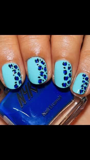 #designyournailsbyisha #ishanailart  #maniswap #maniswapcircle #art #photography #design #artist #nailartist #nailartideas #nailblogger #bblogger #nails #nailart #naildesigns #nailartforbeginners #youtuber #notd #freehandnails #handpaintednails #roposoblogger #soroposo #roposofun #roposofashion #roposonails #leopardnails @design_your_nails_by_isha💞