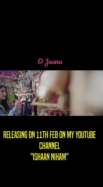 """O Jaana, my second original is all set to release this 11th Feb for all the lovely people on my youtube channel """"Ishaan Nigam"""". Do SUBSCRIBE and stay tuned.😇 #roposostar #roposo-beats #independentmusic #independentartist #valentinesday #valentinesdayweekend #valentinesday #love-status-roposo-beats #whatsapp_status_video #sharethevideo #followme #artistsoninstagram #mysingingtalent"""