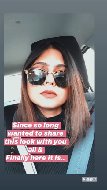 Makeover ❤️ . . . . . . . . #fashonictrishaa #fashionblogger #fashionbloggerindia #fashionista #kolkatafashionblogger #kolkata #hair-style #makeover #blogger #bloggers #roposostar #roposobeauty #roposoblogging