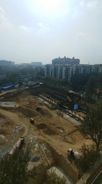 landslide in Hyderabad construction, bus gone... #dailynews