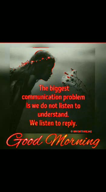 #biggest #communication #problem #goodmorningpost
