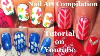 September 2017 Nail Art compilation video is up on my YouTube channel, link is in the bio👆 Go watch it, show some love 💖 and dont forget to hit the Subscribe button 😌 #designyournailsbyisha #ishanailart #nailartvideo #roposoblogger #roposofashion #roposonails #soroposo #youtuber #nailartblogger #naildesigns #nailswag #nails #nails2inspire #nailartjunkie #nailarttutorial #nailartforbeginner #nailartforkids #themenails #butterflynails #raindropsnails #nailvinyls #beautybigbangnailart #patternanails #nailartcompilation #compilation  IG:design_your_nails_by_isha❤️