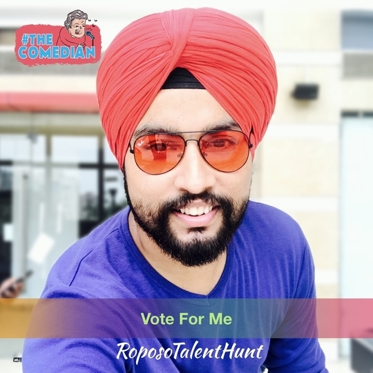 Mr. Funjabi - Please Vote for Me.   #voteforme #roposotalenthunt #talenthunt #indian #youtuber #mrfunjabi #followme #diwali #bindaas #sikh #turban #photography #blogger #thehappyone  #newdp #thecomedian #thecomedian