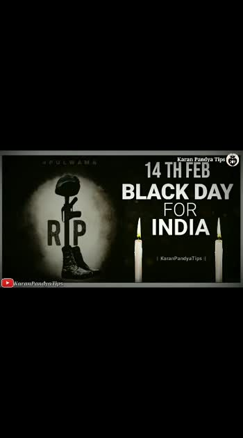 #blackday #pulwamaattack