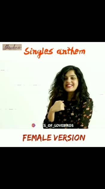 #female_version #femaleversion #femalesinger #singles_anthem #bheeshma_movie_song #songoftheyear