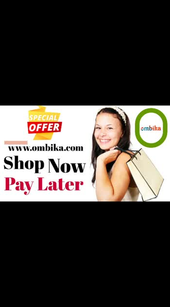 Shop Now Pay Later is now available at www.ombika.com #onlineshopping #shoppingonline #shopnow #paylater