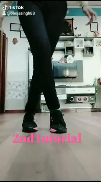 2nd tutorial... ##legmoves #footworkdance #shuffledance #roposostar #tutorial