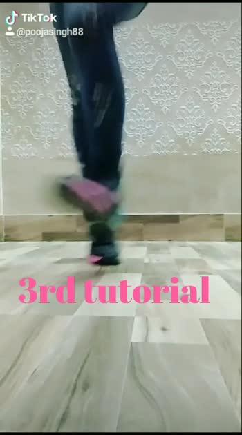 3rd tutorial.... #legmoves #shuffledance #danceindia #tutorial #roposostar #footworkdance