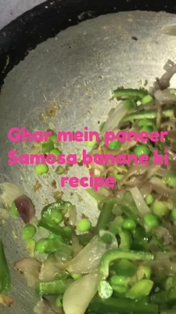 Ghar mein Paneer Samosa banane ki Recipe #snack #snacks #foodies #NorthIndian #DelhiFoodies #FoodInfluencers #FoodBloggers #roposo @roposoindiaofficial