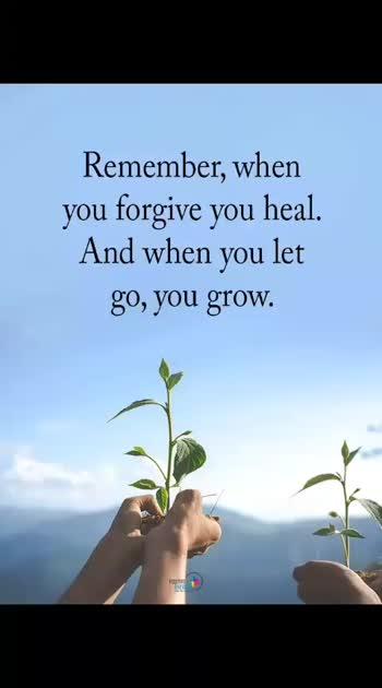 You grow