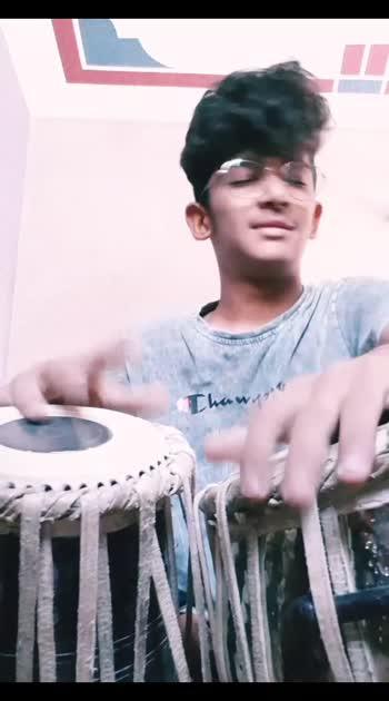 Shiv tandav Tabla Edition 🎶 #ved_prajapati #tabla #roposo