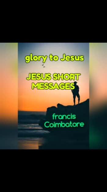 Jesus short messages