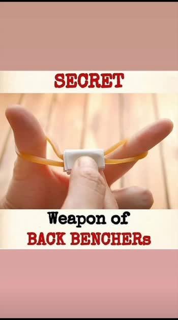 last bencher weapons
