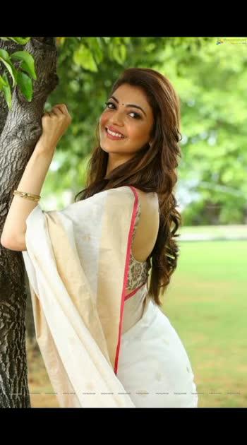 #kajalagarwal #actressinsaree