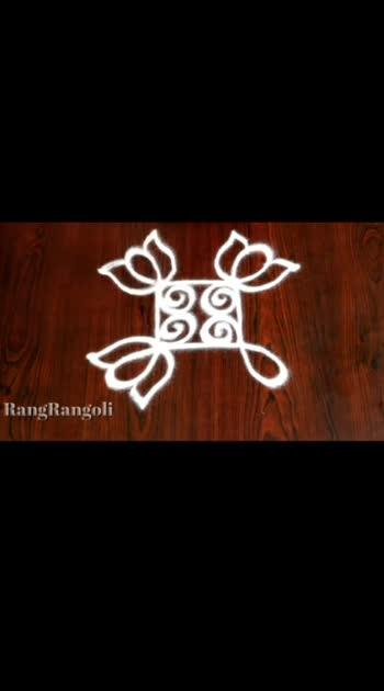 #rangoli #plain #rangoli