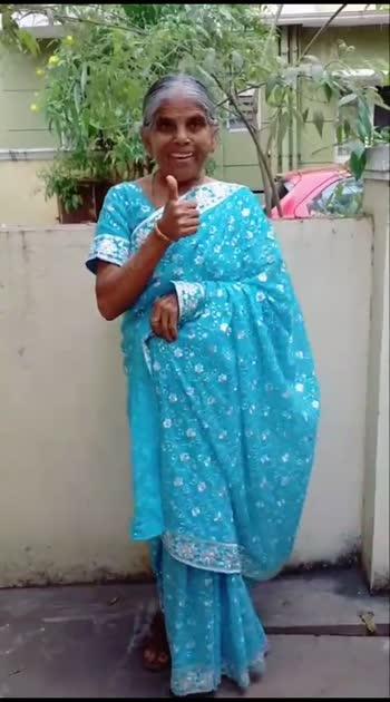 Which version of Gethugrandma do you like?❤️🥰 #gethugrandma #thoufiq24 #roposotamil #tamil #tamilcomedy #paati #gg99