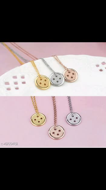 365 Only Cash on delivery Twinkling Graceful Necklace Base Metal: Silver Multipack: 1 Sizes: Free Size