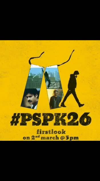 #pspk26 #firstlookposter #trendingnow