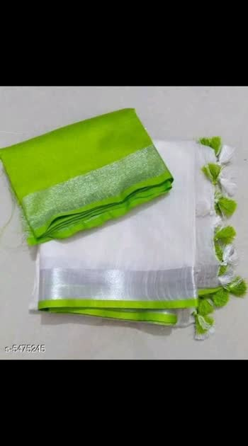 1425 Only Cash on delivery Aishani Graceful Linen Sarees Saree Fabric: Linen Blouse: Running Blouse Blouse Fabric: Linen Pattern: Printed Multipack: Single