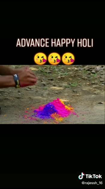 Happy Holi in advance#