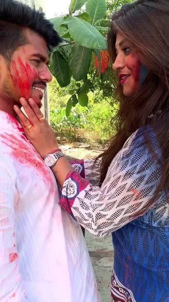 🔥❤️ये लाल इश्क़, ये मलाल इश्क़❤️🔥 #roposostars #happyholi #holi #holihey #happyholi2020 #lalishq #romantic #roposoholi  #risingstar #marathimulgi #marathipost