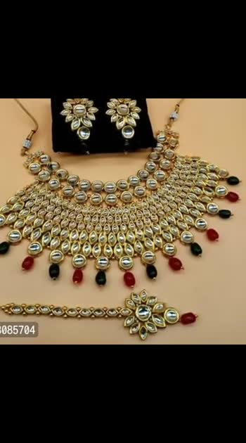 fashion julary*Latest Designer Kundan Pearl Choker Jewellery Set*   *  *Color*: Multicoloured   *Material*: Alloy   *Stone Type*: Crystal   *COD Available*   *Free and Easy Returns*:  Within 7 days of delivery. No questions asked    *Delivery*: Within 6-8 business days   ⚡⚡ Hurry, 6 units available only  Hi, check out this product available at best price for you.💰💰 If you want to buy any product, message me  *Note:* If link is not active, save sender's phone number in contacts  https://myshopprime.com/product/latest-designer-kundan-pearl-choker-jewellery-set/804876624