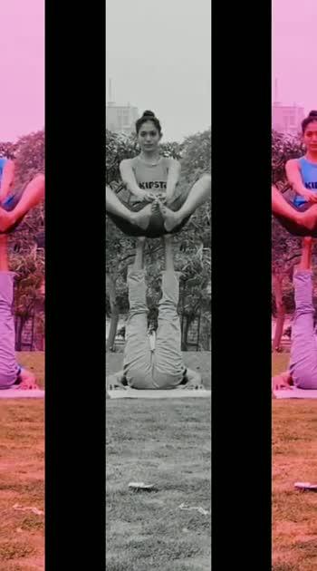 Anjali acroyoga #acroyoga  #anjalikapoor159 #fit  #fitness  #gymlove  #gymlife   #gymlovers #fitnessmodel #fitindia