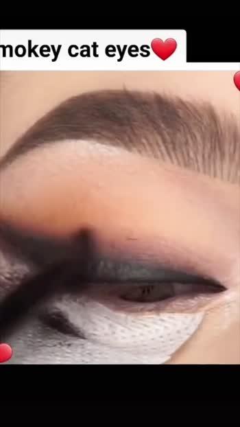 Smokey eyes tutorial #smokeyeyes @roposotalk