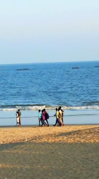 #vizagbeach #beachlover #enjoyment